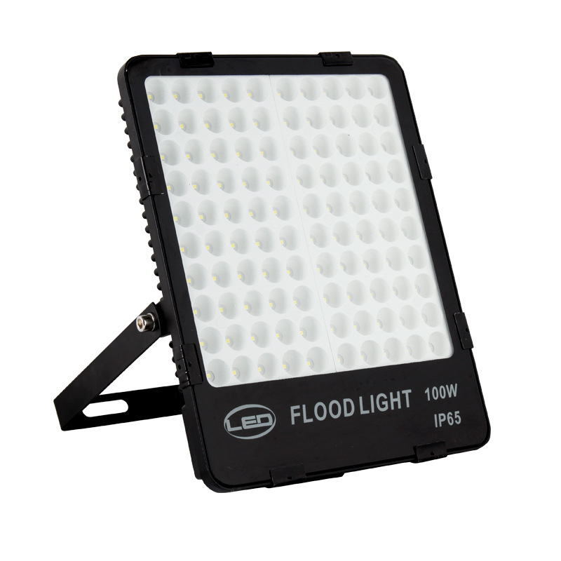 Honeycomb LED Flood Light Outdoor Waterproof Illumination AC85-265 Floodlight High Power Engineering Tunnel Light Aluminium 200W