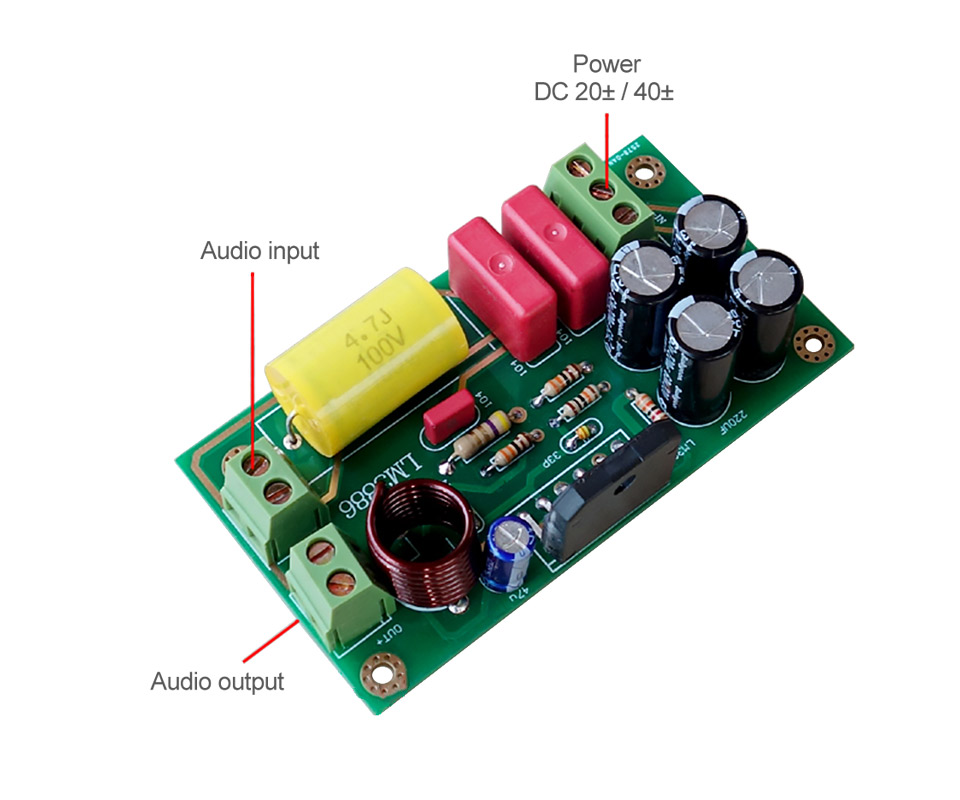 Steady Lm3886 Subwoofer Audio Amplifier Board Bass Amp 68w Kits For 2 Frequency Divider Preamp Linquets Back To Search Resultsconsumer Electronics Accessories & Parts