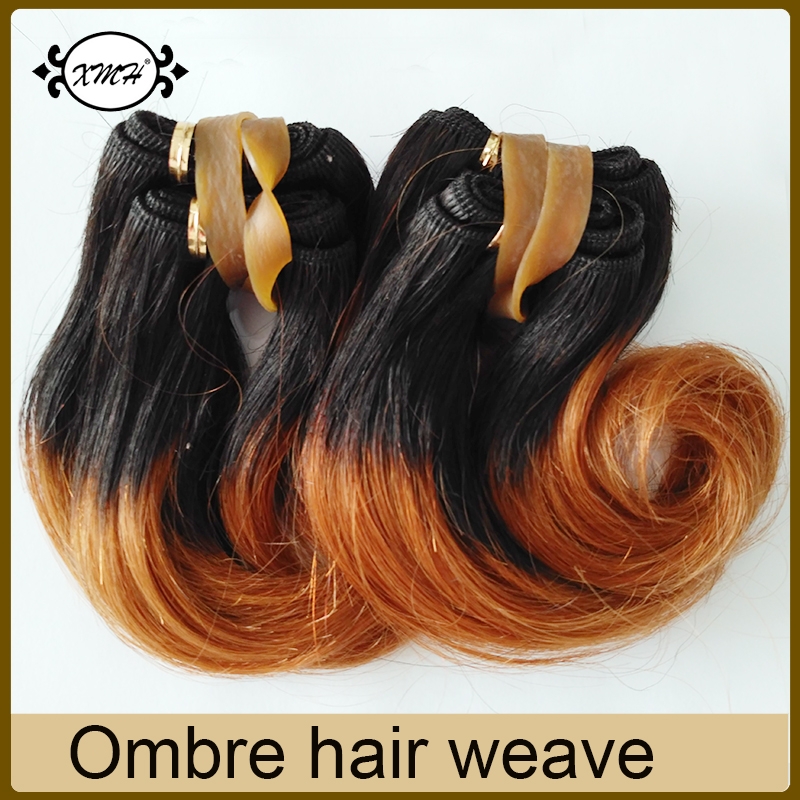 Cheap Short Hair 6inch Malaysian Ombre Body Wave Virgin Hair