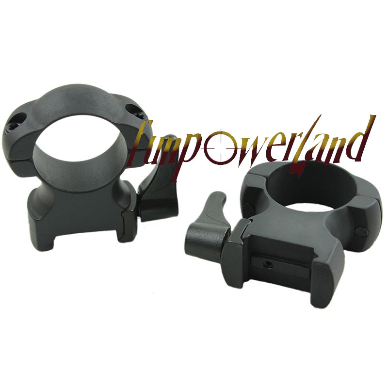 Image 4 - Rifle steel Weaver mount 1 Inch High Matte Lever Lok Top Mount Ringsmount ringweaver mountweaver rings -