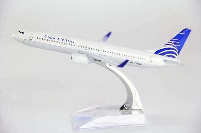 1:400 modelo de avión A737 Panamá Airlines aeronave B737-800 de simulación de Metal modelo de avión para los juguetes para niños de regalo de Navidad
