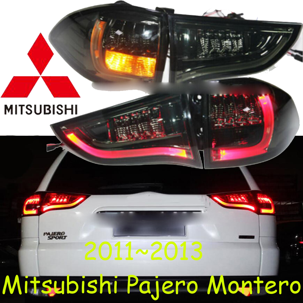car-styling,Pajero Taillight,Montero,2011~2013,Free ship!4pcs,Pajero fog light;chrome,Pajero tail lamp,Jimny,car-detector,Lancer car styling golf6 taillight 2011 2013 led free ship 4pcs golf6 fog light car covers golf7 tail lamp touareg gol golf 6