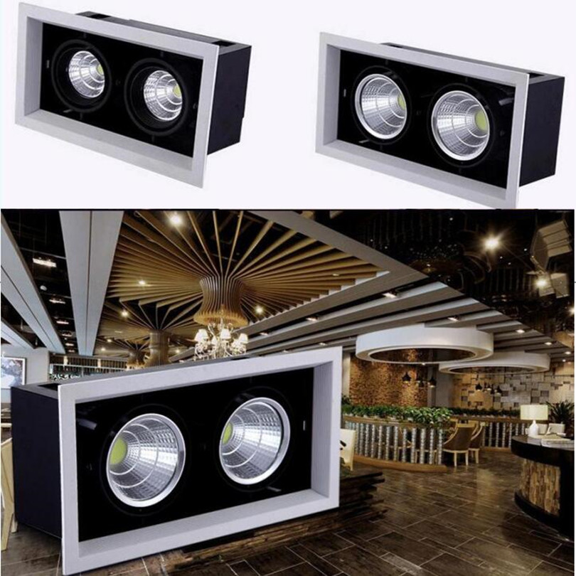 40w 60w Cob Led Light Recessed Ceiling