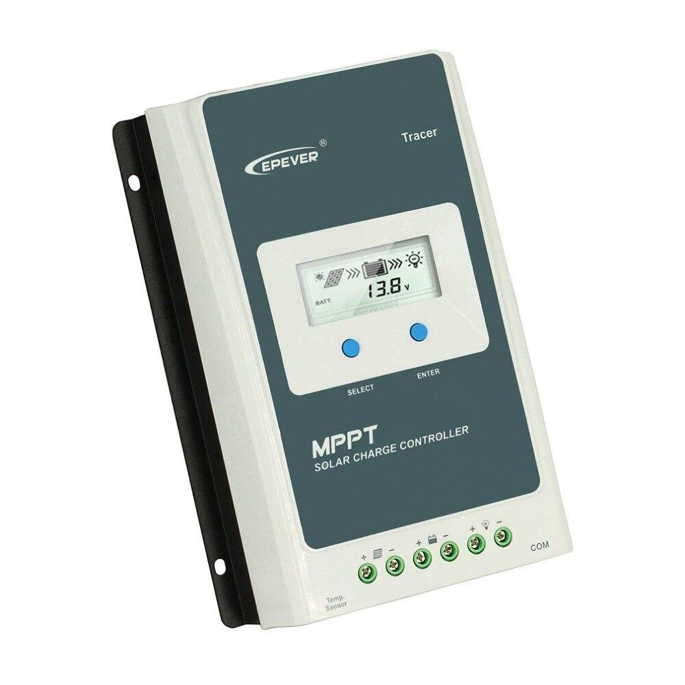Traceur 3210AN 30A MPPT contrôleur de Charge solaire 12 V/24 V rétro-éclairage LCD affichage régulateur solaire Portable régulateur