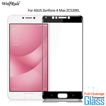 For Glass ASUS Zenfone 4 Max ZC520KL Screen Protector Tempered Glass For ASUS Zenfone 4 Max ZC520KL Glass 2.5D Full Phone Film