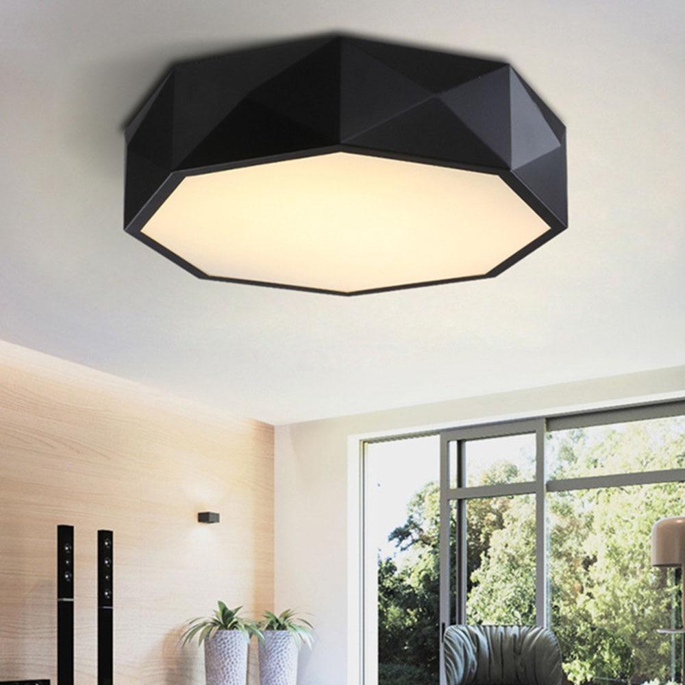 Led Ceiling Lamp 24-36W Simple Flush Mount Ceiling Light 110-220v Modern Led Acrylic Ceiling Lights for Living Room