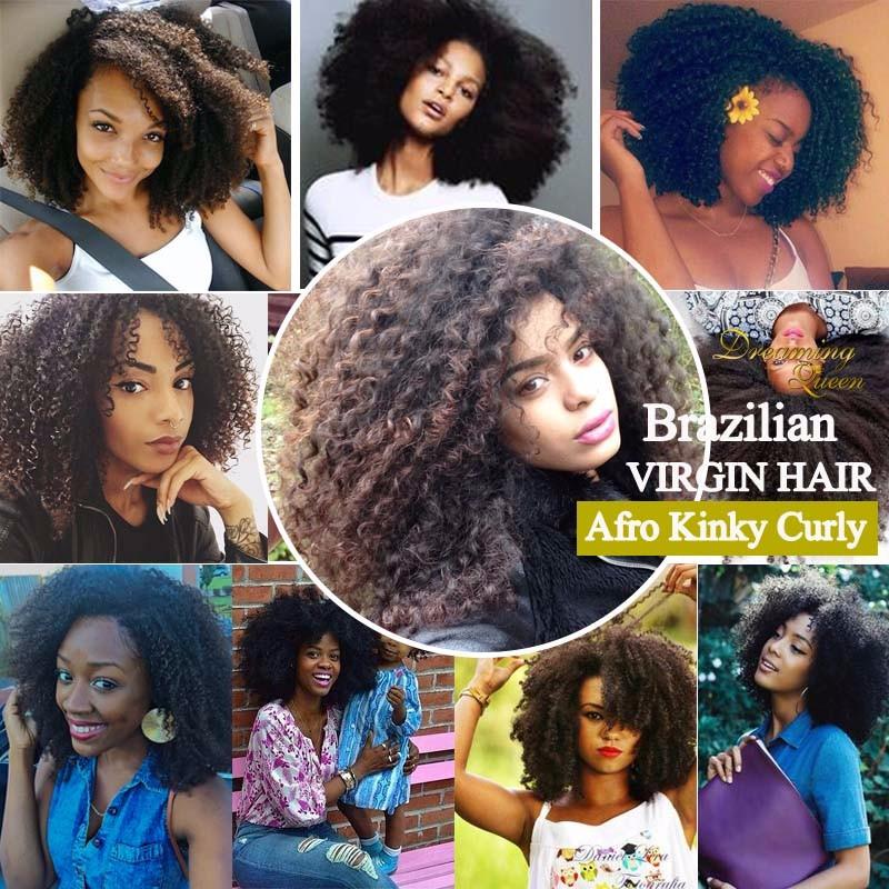 Brazilian Afro Kinky Curly