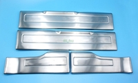 High quality Stainless Steel Door Sill Scuff Plate Pad Threshold For Range Rover Evoque 2009 2015 Car Accessories with logo