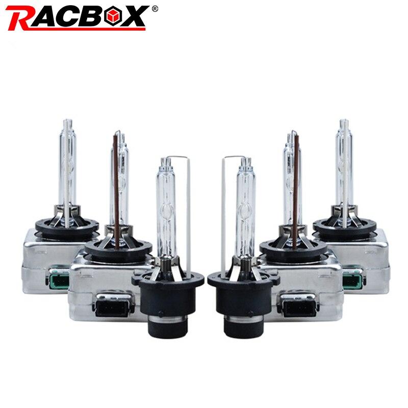 RACBOX Pair HID Bulb D1S D1R D2S D2R D3S D3R D4S D4R Xenon HID Lamp Globe Lights 35W 3000K 4300K 5000K 6000K 8000K 10000K 12000K