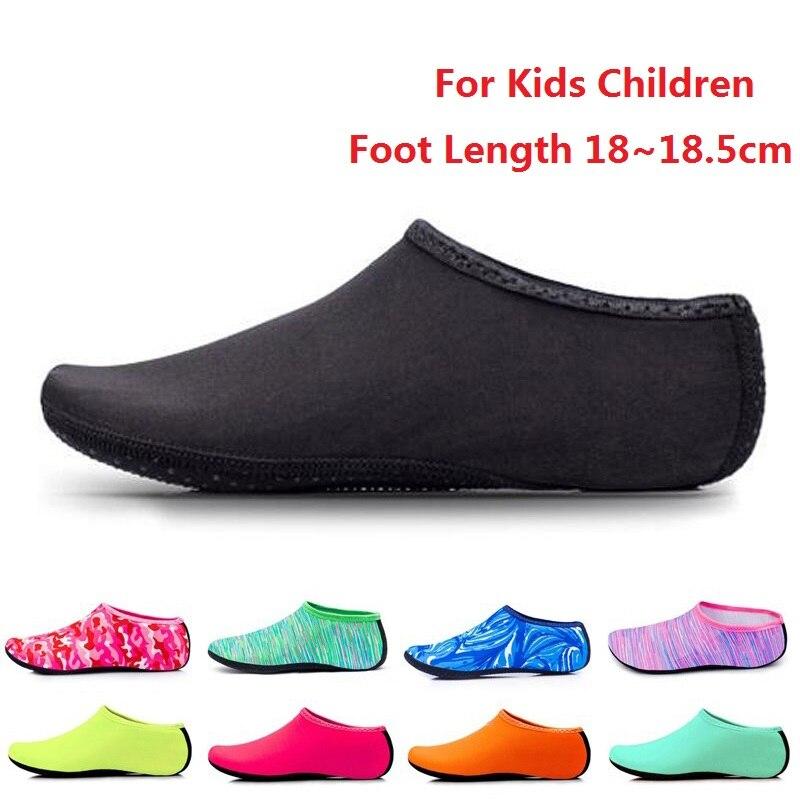 Beach Swimming Water Sport Socks Anti Slip Shoes Dance Swim Pool Diving Underwater Shoes Beachwear For Kids Children Boys Girls