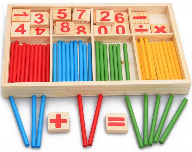 किंडरगार्टन बचपन की शिक्षा लकड़ी के बच्चों की संख्या बार बार मोंटेसरी शिक्षाओं शिशु शिक्षा शैक्षिक खिलौने चिपक जाती है