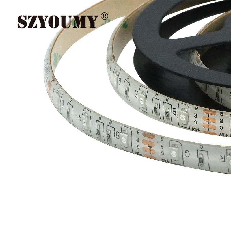 SZYOUMY RGB Led Light Strip аккумуляторы Powered + RGB - LED Жарықтандыру - фото 3