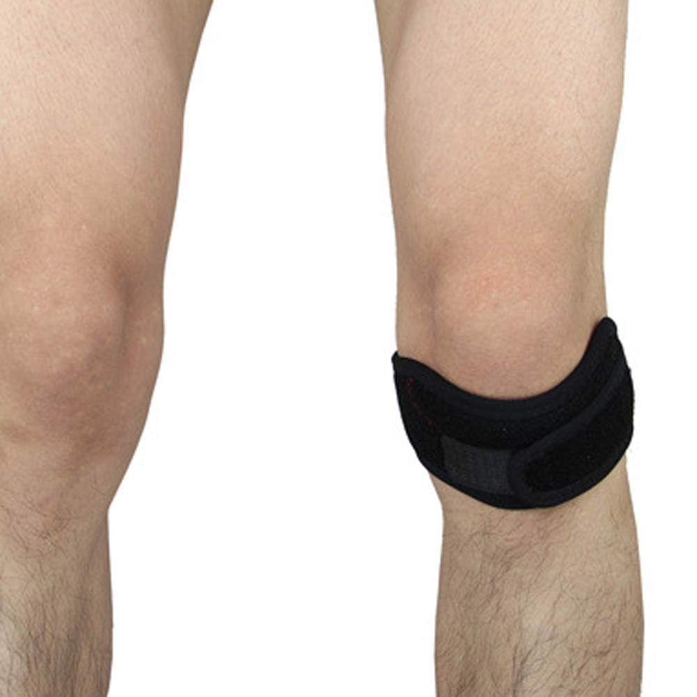 Patella Knee Strap Support Sports Safety Double Pressure Brace Adjustable Jumperss Knee Patellar Tendon Belt Protector