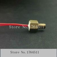 [BELLA] Screw precision PT100 temperature sensor PT100 RTD temperature probe waterproof M6 * 1 2pcs/lot