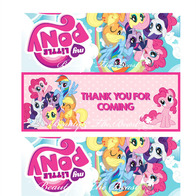 My Little Pony Bag Toppers ,Food Labels, Baby Shower,Birthday party decorations kids,Party