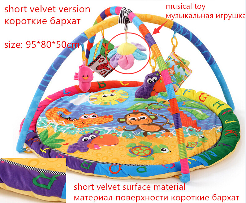Activité de Jeu pour bébé Tapis Bébé Gym Éducatifs Fitness Cadre Multi-support Bébé Jouets Jeu Tapis - 3