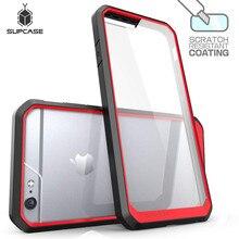 SUPCASE עבור iphone 6 6s מקרה Unicorn חיפושית סדרת פרימיום היברידי מגן TPU במפר + נקה חזור כיסוי עבור iphone 6 6s מקרה