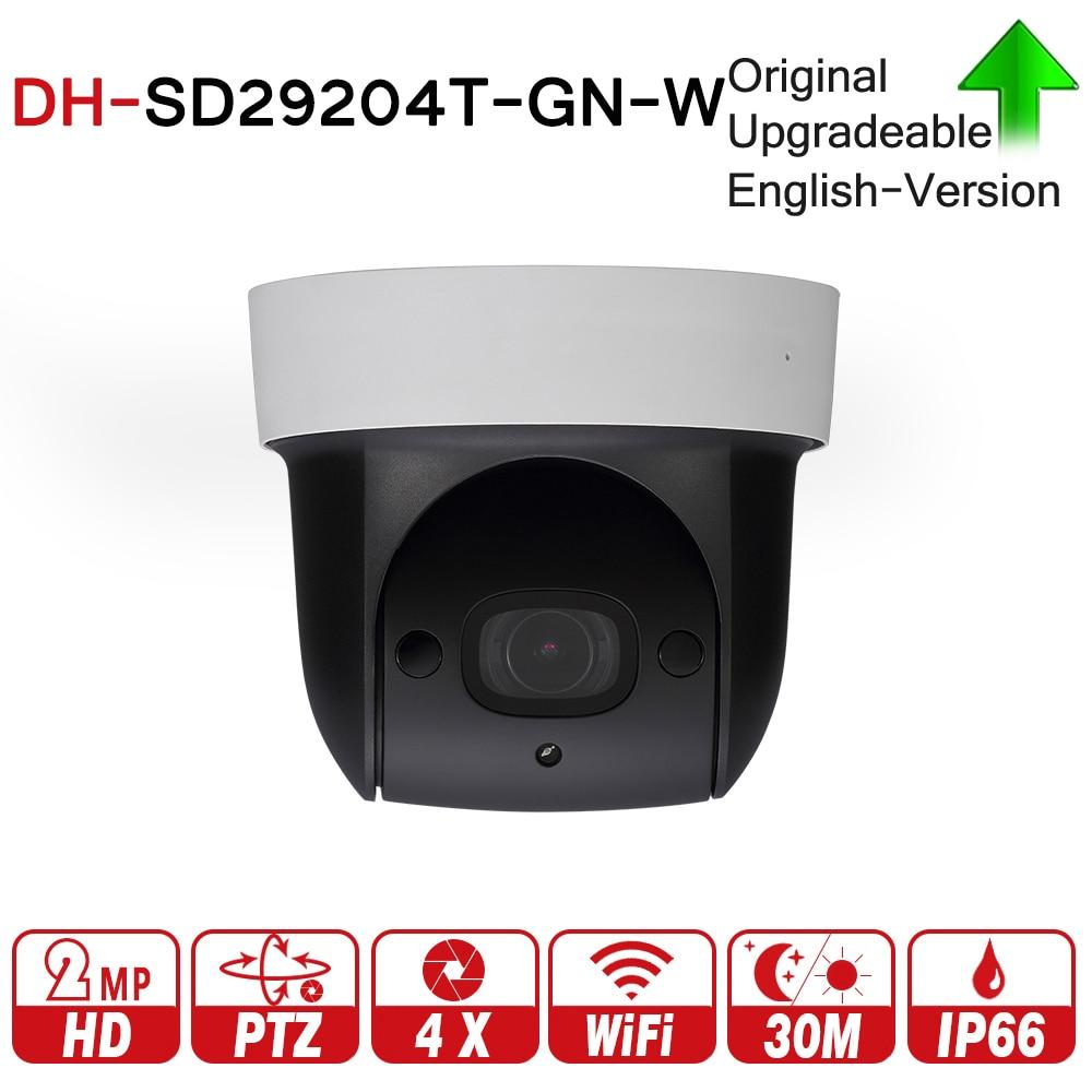 DH SD29204T-GN-W con logo Originale 2MP 1080 P 4X Zoom Ottico PTZ WiFi Telecamera ip di Rete CCTV 30 M Notte senza Fili di visione WDR ICR