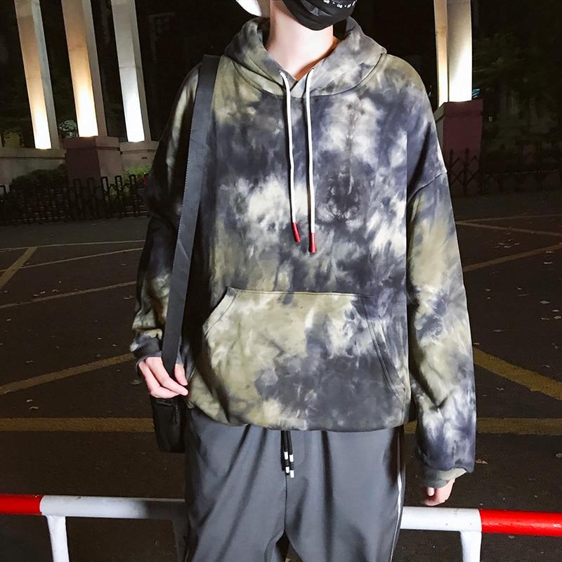 High Quality Autumn Hoodies Retro camouflage Men Fashion Hooded Sweatshirts Mens Streetwear Trendy Soft Breathable Clothing