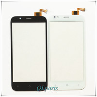 Black Touchscreen Sensor Front Glass For Lenovo A789 Touch Screen With Digitizer Replacement Parts External Screen