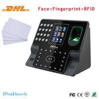 Бесплатная доставка DHL Уход за кожей лица + отпечатков пальцев + RFID карты распознавания время посещения Управление доступом ip tcp RS485 232 USB врем
