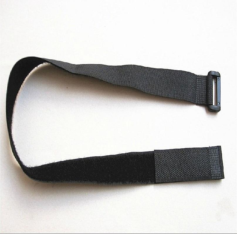 freeshipping 25 pcs lote 2 5cm x 300mm fita magica cable tie nylon strap com botao
