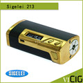 100% Original Sigelei 213W TC Box Mod OLED Screen 10W-213W Temperature Control 0.1-3.0ohm Sigelei 213 Watt