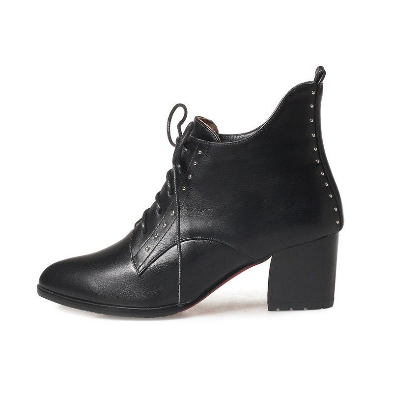 Med rouge Haute 2018 Nouvelle Pointu Cheville Memunia Femmes 43 Noir Talons argent Bottes Taille Mode Bout 33 Grande Qualité uPkZiX