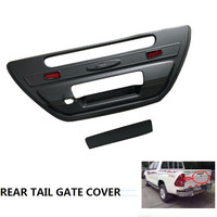 CITYCARAUTO CAR STYLING FOR HILUX REVO TAIL GATE COVER REAR TRUNK COVER STICKER FIT FOR TOYTA