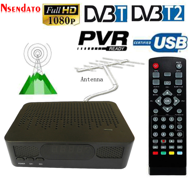 K3 DVB-T2 Satellite TV Receiver HD Digital TV Tuner Receptor MPEG4 DVB T2 DVBT2 H.264 3D Set Top TV Box For SIA Thailand Europe