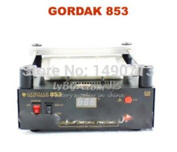 No shipping GORDAK 853 IR preheater lead-free BGA rework station preheating station 853a bga constant temperature lead free preheating stations