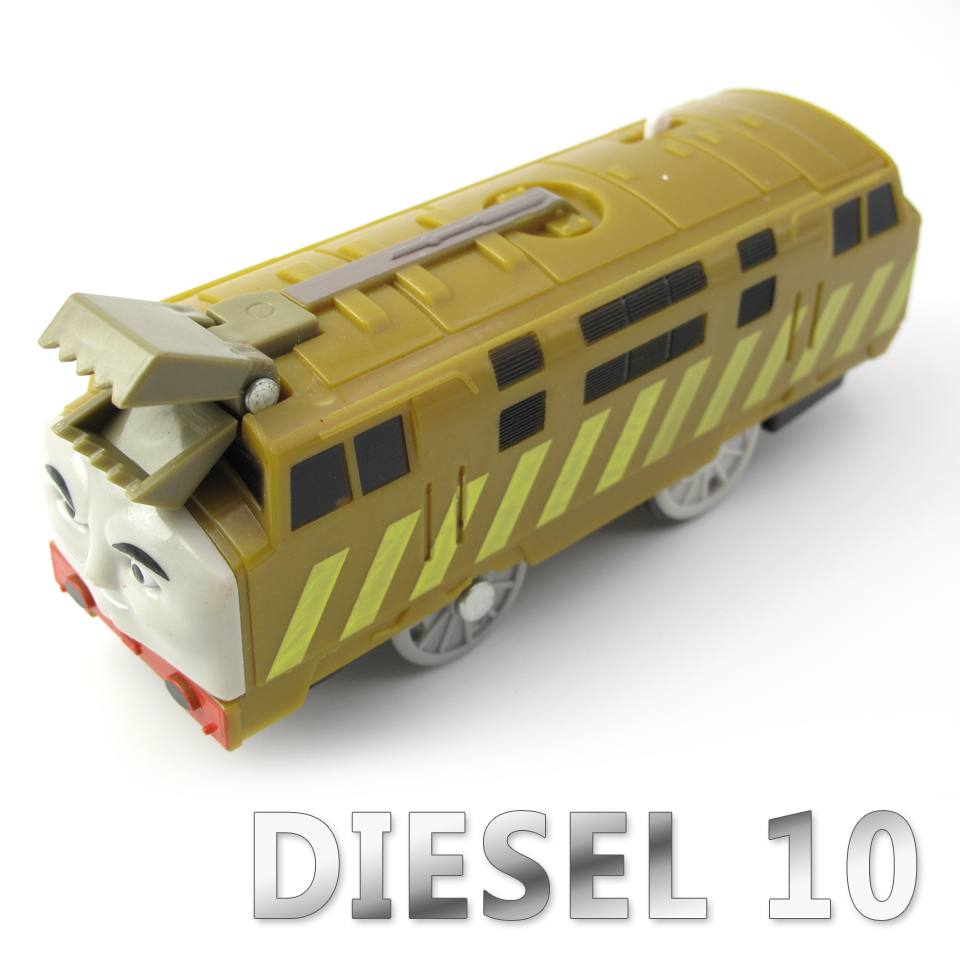 Electric Thomas Train T040E DIESEL 10 Thomas And Friends Trackmaster Magnetic Tomas Truck Car Engine Railway Toys for Boys