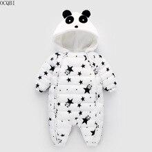 OCQBI Winter Panda Baby Rompers Overalls Newborn 2018 Girl B