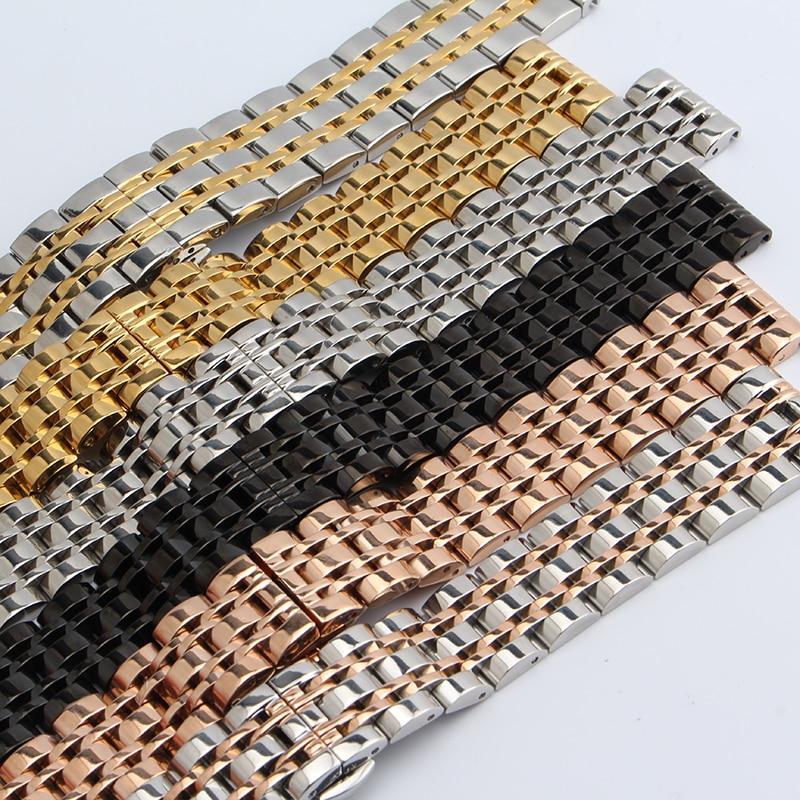 Náramek z nerezavějící oceli s pevným kovovým náramkem - Příslušenství k hodinkám - Fotografie 5
