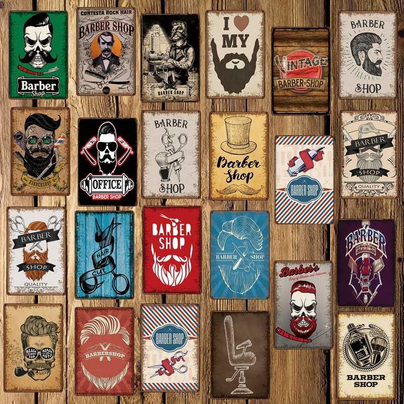 [Mike86] Kapper Winkel Metalen Teken Custom Poster Persoonlijkheid Klassieke Iron Schilderen Decor Art FG-5122