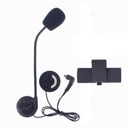 Kask motocyklowy interkom zestaw słuchawkowy akcesoria  słuchawki i mikrofon oraz klips nadaje się do COLO bluetooth kask domofon