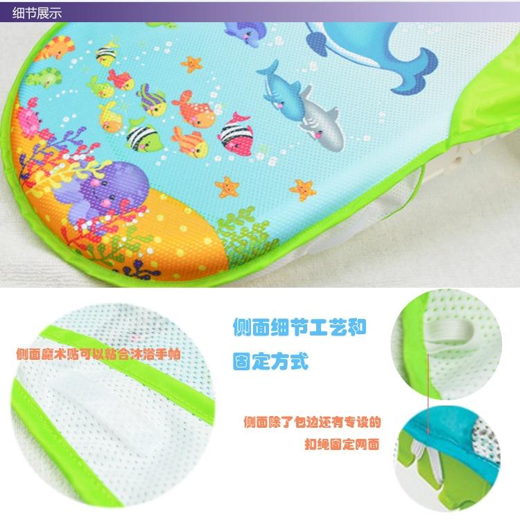 Newborn Baby Bathtub Foldable Shower Chair Safey Bath Tub for New ...