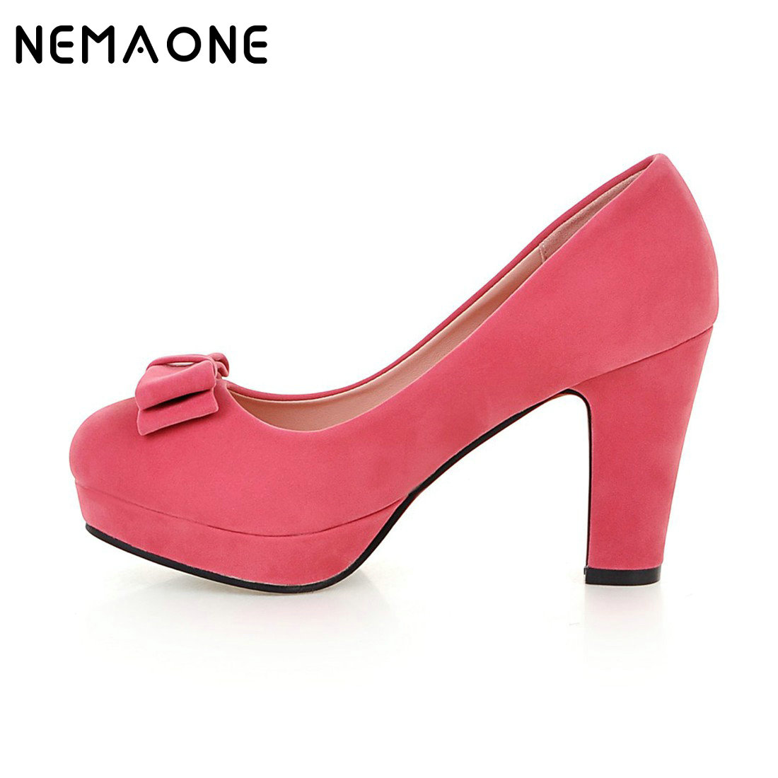 Online Buy Wholesale chunky heels pumps from China chunky heels ...