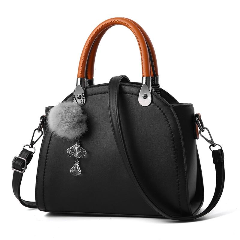 Women Bag Hand Bag PU Leather Women Leather Handbag  Ladies Shoulder Bag Fashion Female Tote barhee famous brand women long handbag pu leather shoulder bag design european fashion boston tote hand bag for elegant ladies