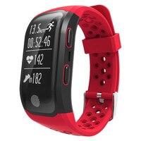 Più nuova Versione IP68 Impermeabile Nuoto Braccialetto Intelligente GPS Sport Fitness Tracker Guarda Heart Rate Monitor di Dormire Banda Intelligente