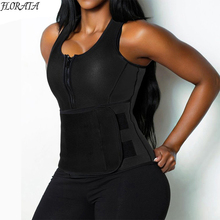 High Quality Neoprene Sauna Vest Body Shaper Slimming Belt for Women Waist Trainer Workout Shapewear Adjustable