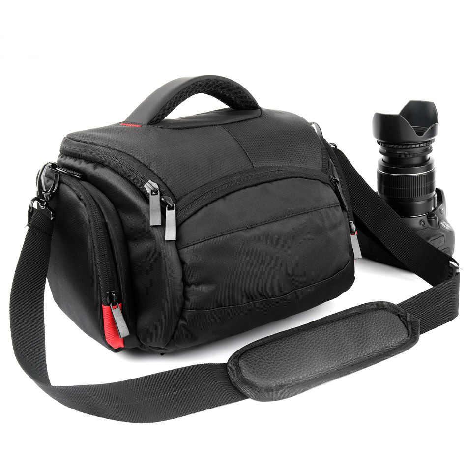 Sac à dos haute capacité pour appareil photo pour Canon 100D 200D 1300D 80D 750D 6D Sony A7 A7RII A9 A6000 appareil photo Nikon sac pochette pour objectif