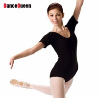 2015 Children Adult Gymnastics Leotard Black Ballet Leotards For Women Girls Training Dance Dresses Practice Ballet