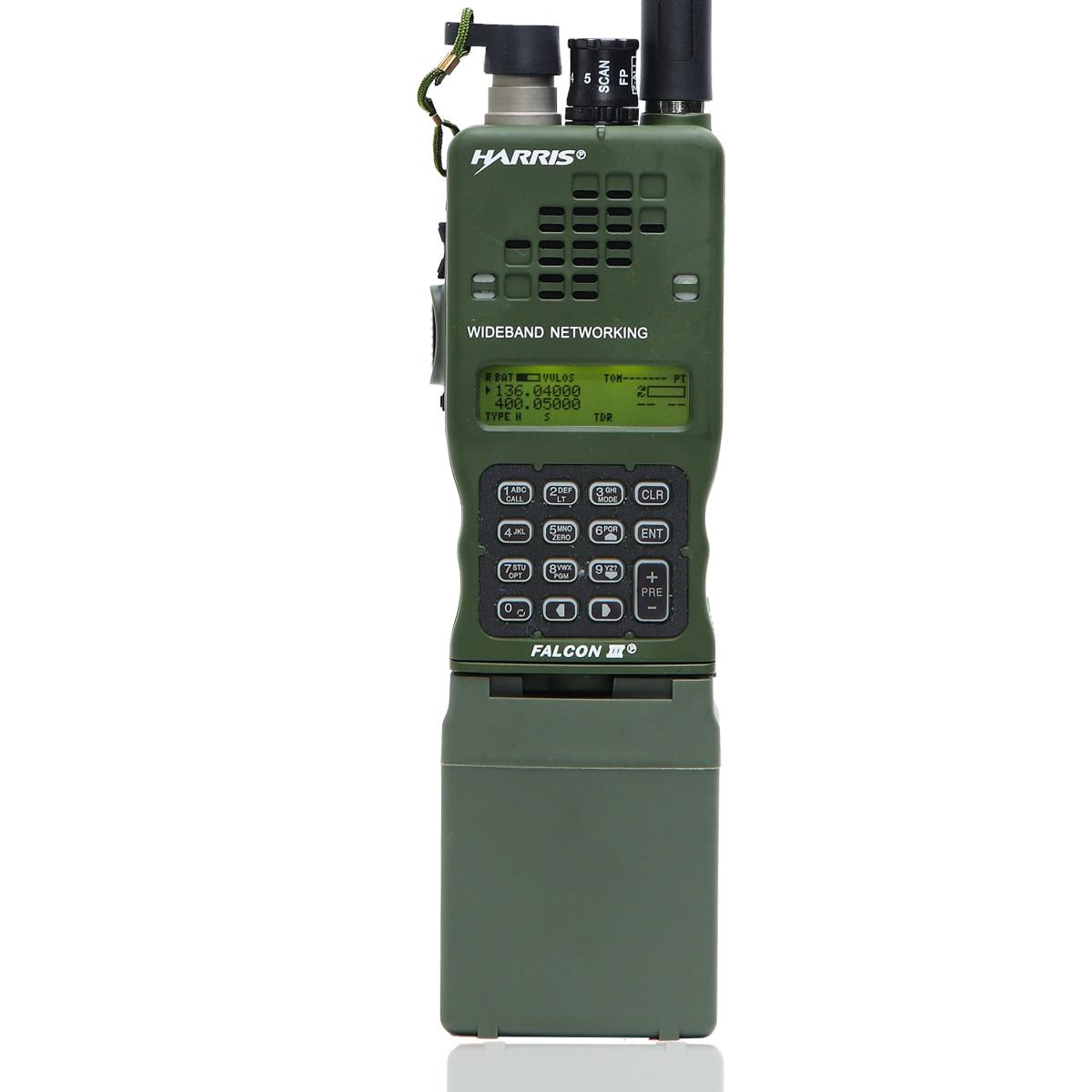 TCA AN PRC 152A UV IPX7 Army Tactical CS VHF UHF Dual Band Military MBITR Aluminum