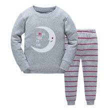 Kid's Cartoon Printed Pajamas Set
