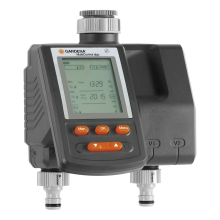 Таймер для полива GARDENA 01874-2900000 (Для автоматического управления поливом, материал - металл, пластик, макс. рабочее давление 12 бар, наземная установка)