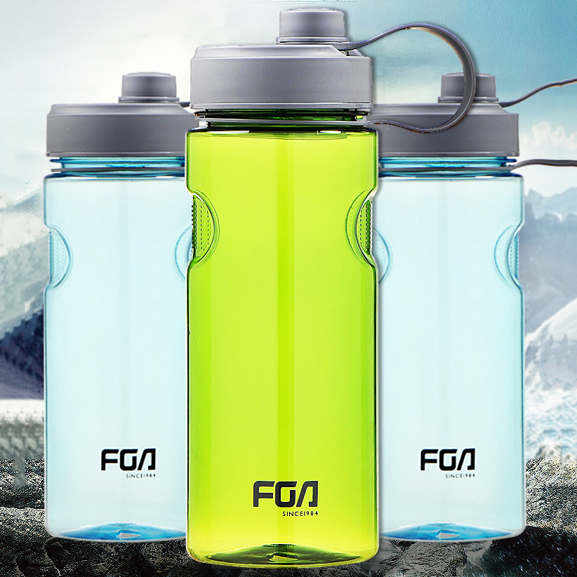 800ML 1000ML Portable Leak Proof Sports Water Bottle Eco-friendly Tour Hiking Bike Plastic Drinking Bottle Kitchen Accessories