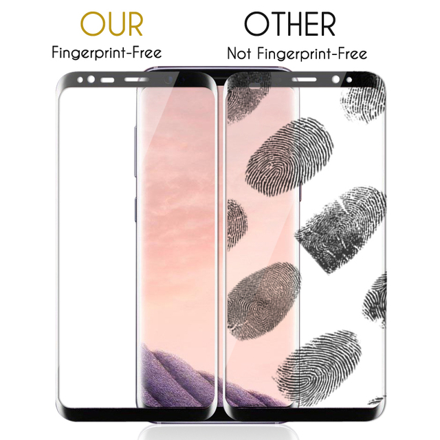 3D Original NFH Sensitive Reaction Tempered Glass For Samsung Galaxy S8 S8 Plus Screen Protective Protection Film Case On S 8 5