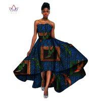 NOWY 2017 Fashion Design Bazin Afryki Wosk Wydruku Sukienki dla Kobiet Riche Plus Rozmiar 6xl WY598 Afryka Sexy Długa Sukienka Dla Kobiet