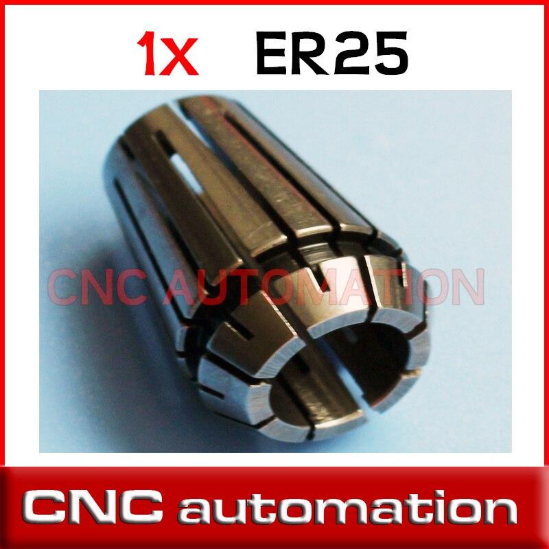"""1//2/"""" or 12.7mm ER25 Spring Collet for CNC Chuck Milling Lathe"""